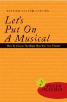 Let's Put on A Musical!