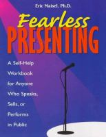Fearless Presenting