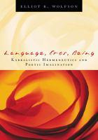 Language, Eros, Being