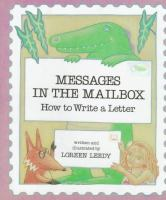 Messages In The Mailbox : How To Write A Letter