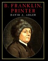 B. Franklin, Printer