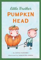 Little Brother Pumpkin Head