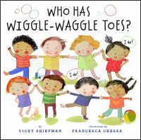 Who has wiggle waggle toes book cover