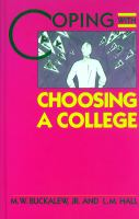 Coping With Choosing A College