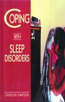 Coping With Sleep Disorders