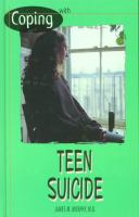 Coping With Teen Suicide