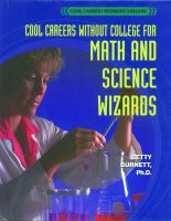 Cool Careers Without College for Math and Science Wizards
