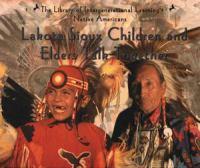Lakota Sioux Children and Elders Talk Together