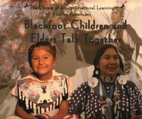 Blackfoot Children and Elders Talk Together