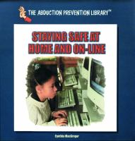 Staying Safe at Home and On-line