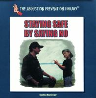 Staying safe by saying no