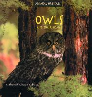 Owls and Their Homes