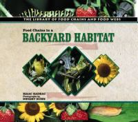 Food Chains in A Backyard Habitat