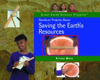 Hands-on Projects About Saving the Earth's Resources