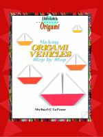 Making Origami Vehicles Step by Step