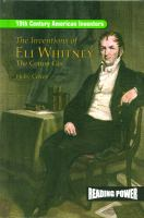 The Inventions of Eli Whitney
