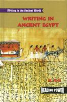 Writing in Ancient Egypt