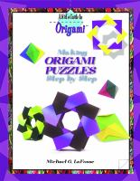 Making Origami Puzzles Step by Step