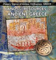 Land and Resources of Ancient Greece
