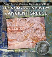 Economy and Industry in Ancient Greece