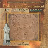Politics and Government in Ancient Egypt
