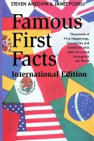 Famous First Facts, International Edition