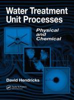 Water Treatment Unit Processes