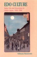 Edo Culture