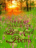 The Ideals Treasury of Best Loved Poems
