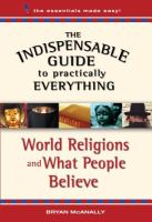 World Religions and What People Believe