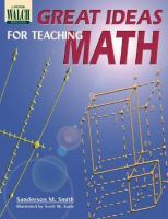 Great Ideas For Teaching Math