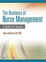 The Business of Nurse Management