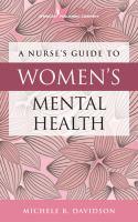 A Nurse's Guide to Women's Mental Health