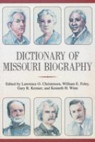 Dictionary of Missouri Biography