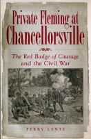 Private Fleming at Chancellorsville