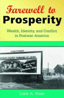 Farewell to Prosperity