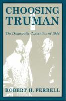 Choosing Truman