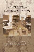 The Writings of Eusebio Chacón