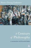 A Century of Philosophy