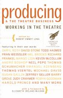 Producing & the Theatre Business