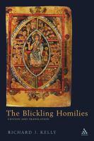 Blickling Homilies