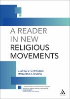 A Reader in New Religious Movements