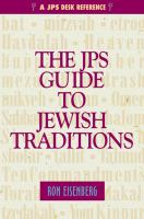 The JPS Guide to Jewish Traditions