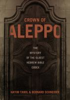 The Crown of Aleppo