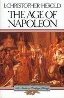 The Age of Napoleon