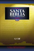 Santa Biblia letra gigante