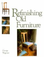 Refinishing Old Furniture