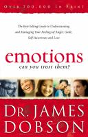Emotions, Can You Trust Them?