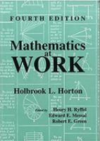 Mathematics at Work