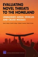 Evaluating Novel Threats to the Homeland